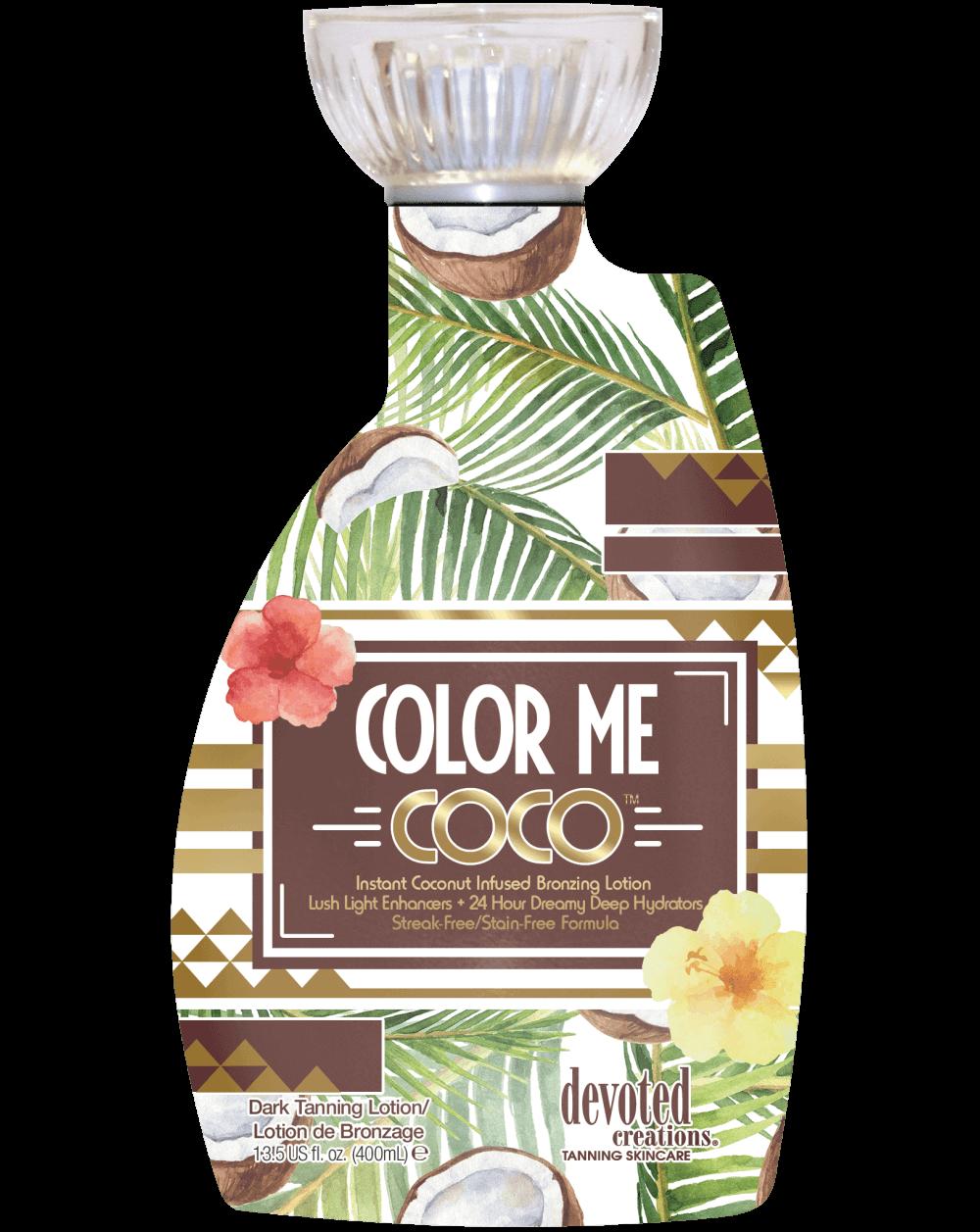Color me Coco ™-Soliariumo kremai-Color Rush kolekcija