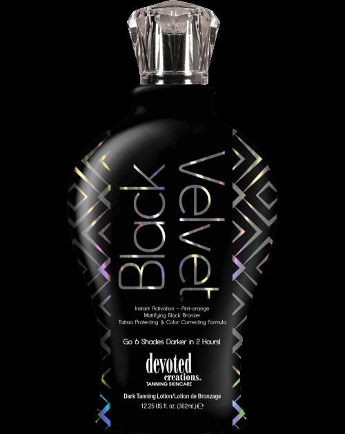 Black Velvet ™-Soliariumo kremai-Devoted Creations kolekcija