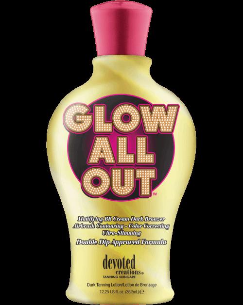 Glow All Out ™-Soliariumo kremai-Devoted Creations kolekcija