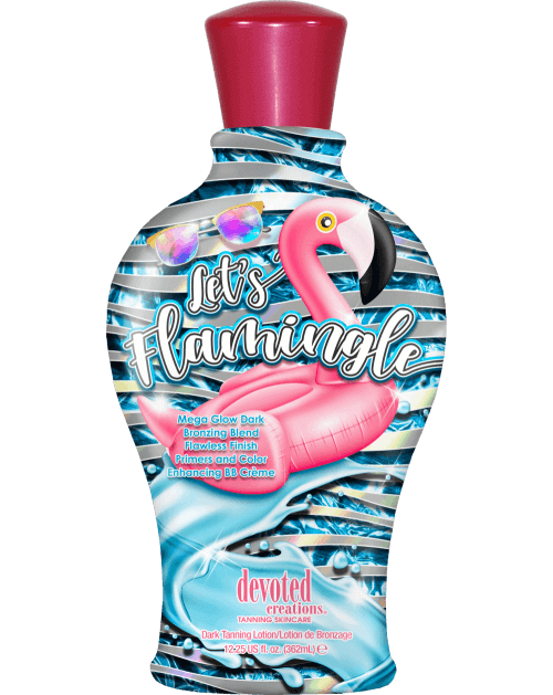 Let's Flamingle ™-Soliariumo kremai-Devoted Creations kolekcija