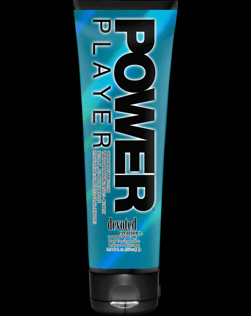 Power Player ™-Soliariumo kremai-Intensity kolekcija