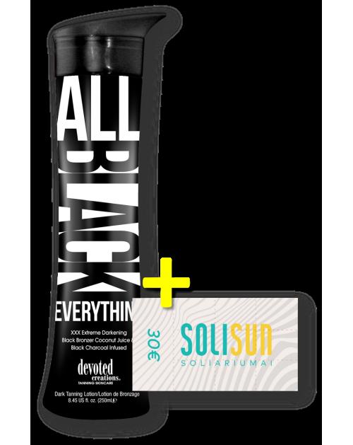 All Black Everything™ + 30€ Solisun