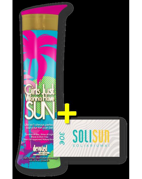 Girls Just Wanna Have Sun™ + 30€ Solisun