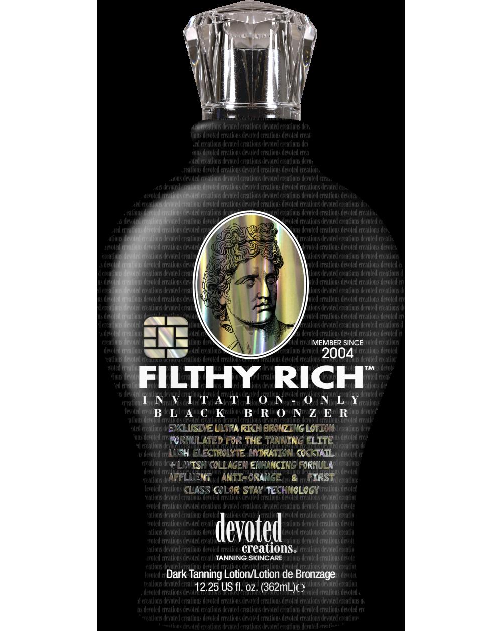 Filthy Rich™-Soliariumo kremai-Devoted Creations kolekcija
